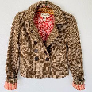 Vintage Abercrombie & Fitch Wool  Jacket Blazer
